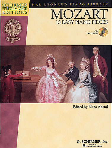 Mozart, Wolfgang Amadeus : 15 Easy Piano Pieces