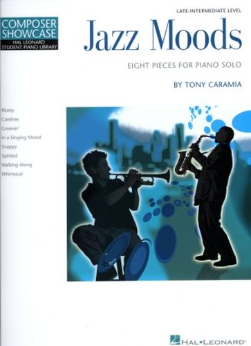 Jazz Moods 8 pieces For Piano Solo Late intermediate Level