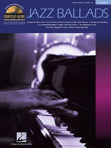 Piano Play-Along Volume 2: Jazz Ballads