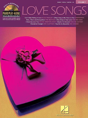 Piano Play-Along Volume 7: Love Songs