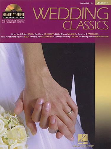 Piano Play-Along Volume 10: Wedding Classics