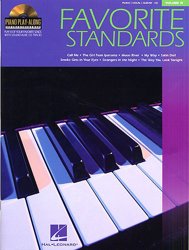 Piano Play-Along Volume 15: Favourite Standards