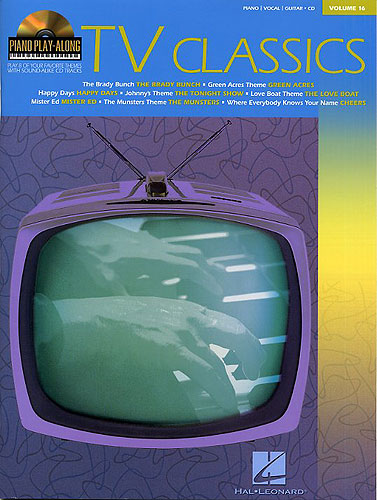 Piano Play-Along Volume 16: TV Classics