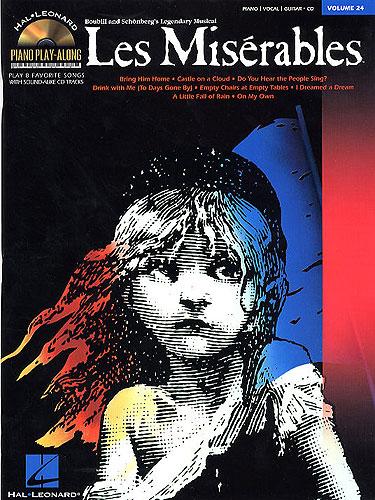Piano Play-Along Volume 24: Les Miserables