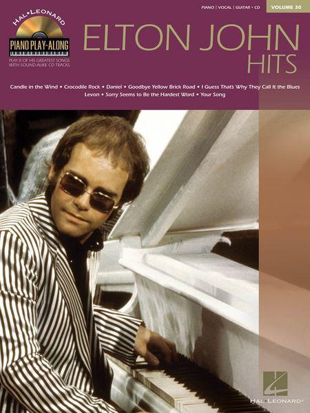 Piano Play-Along Volume 30: Elton John Hits
