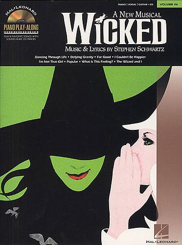 Schwartz, Stephen : Piano Play-Along Volume 46: Wicked