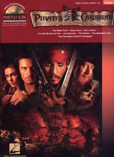 Zimmer, Hans / Badelt, Klaus : Piano Play Along Volume 69 : Pirates Of The Caribbean
