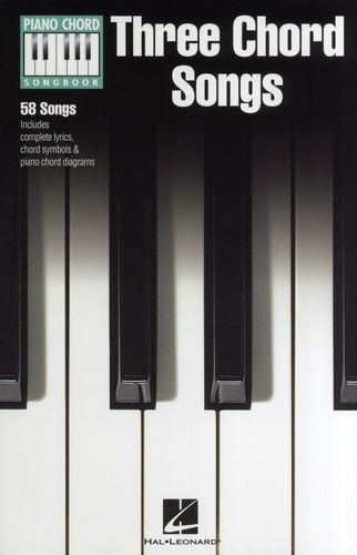 Piano Chord Songbook : Three Chord Songs