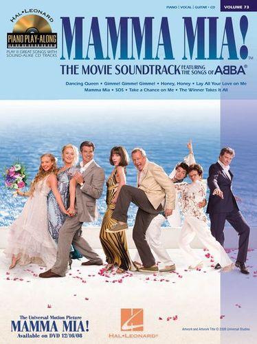 Piano Play Along Volume 73 : Mamma Mia