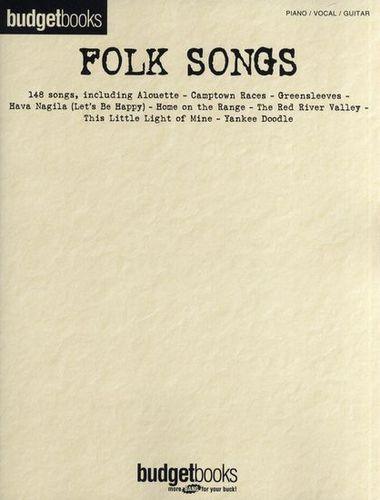Budgetbooks Folk Songs