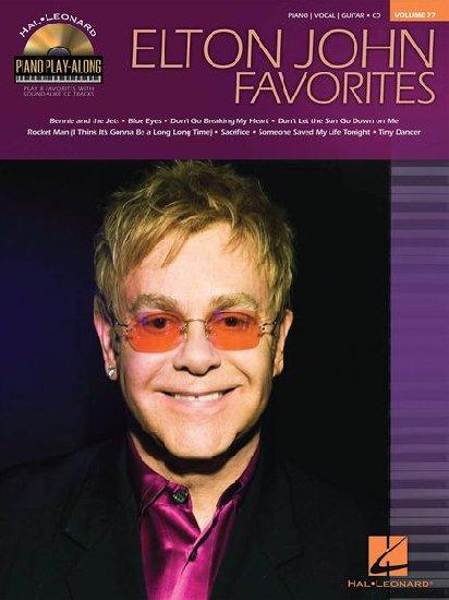 John, Elton : Piano Play Along Volume 77 : Elton John Favorites