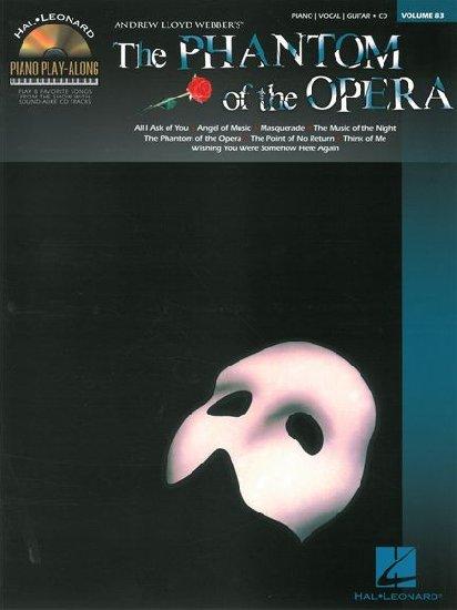Piano Play Along - Volume 83 : Phantom of the Opera