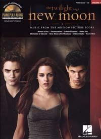 Desplat, Alexandre / : Piano Play Along Volume 94 : Twilight New Moon