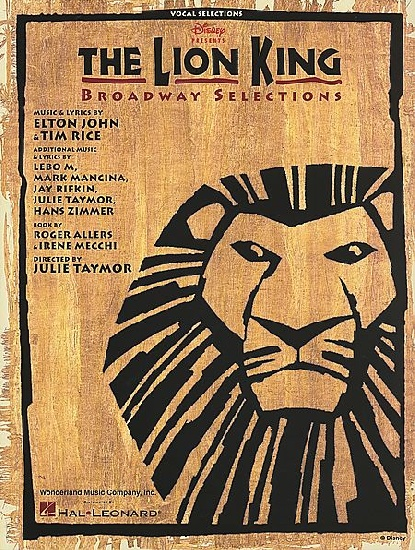 Rice, Tim : The Lion King Broadway Selections