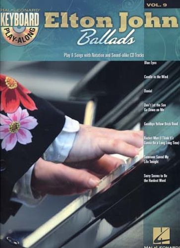 John, Elton : Keyboard Play Along Volume 9 : Elton John Ballads