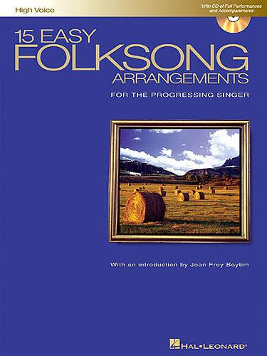 Boytim, Joan Frey : 15 Easy Folksong Arrangements For High Voice