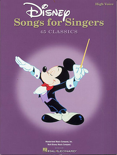 Divers : Disney Songs For Singers: High Voice