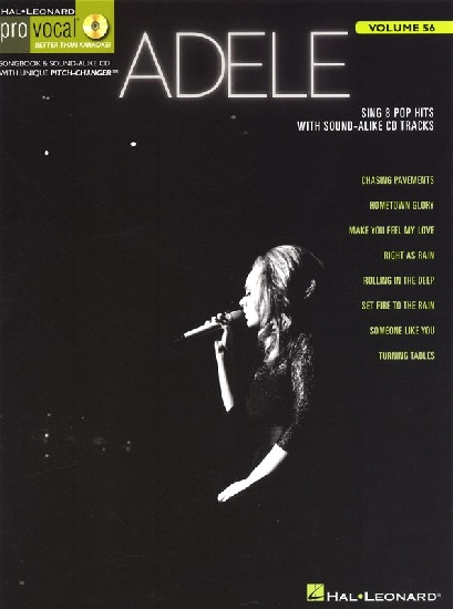 Adele : Pro Vocal Volume 56 : Adele
