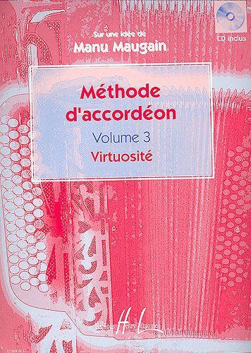 Maugain, Manu : Méthode d'Accordéon - Volume 3 - Virtuosité