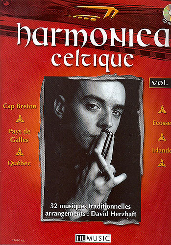 Herzhaft, David : Harmonica Celtique Volume 1