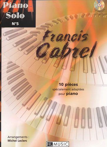 Cabrel, Francis : Piano Solo N°5 - Francis Cabrel