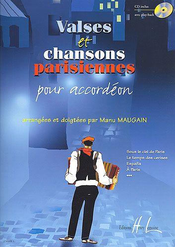 Maugain, Manu : Valses et Chansons Parisiennes