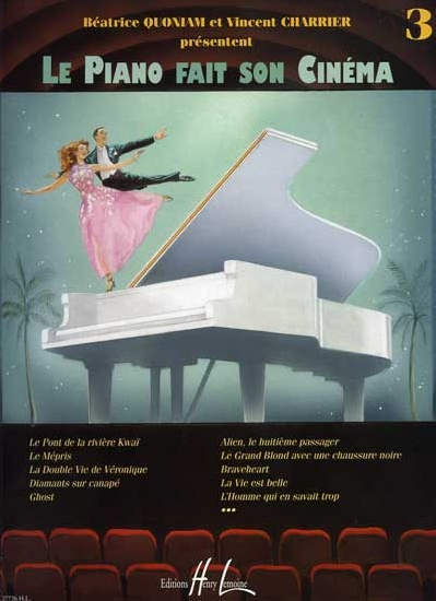 Charrier, Vincent / Quoniam, Béatrice : Le Piano fait son Cinéma - Volume 2