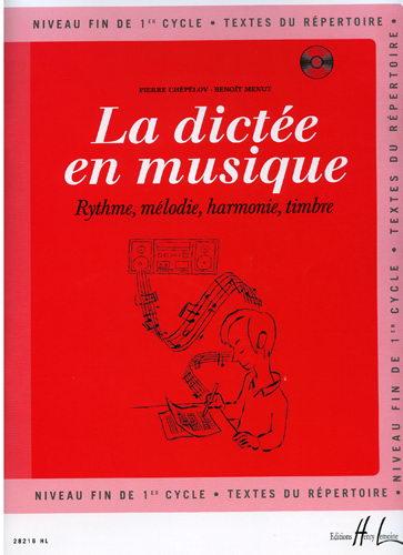 La dictée en musique (Menut, Benoît / Chépélov, Pierre)