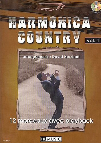 Herzhaft, David : Harmonica Country Volume 1