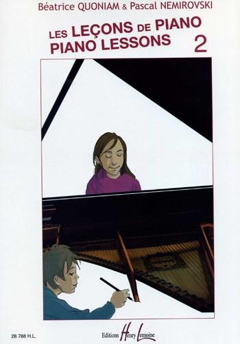 Les leçons de Piano - Volume 2