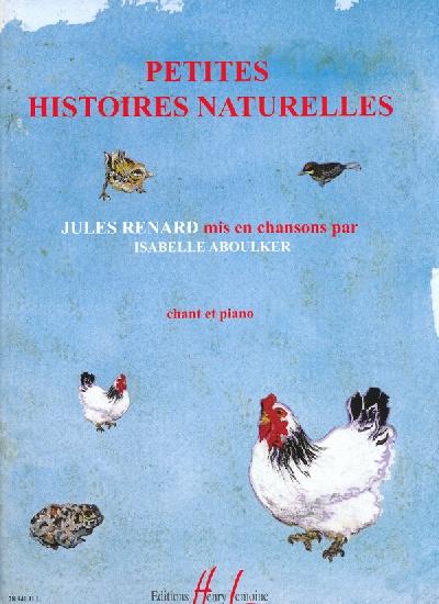 Aboulker, Isabelle : Petites Histoires Naturelles