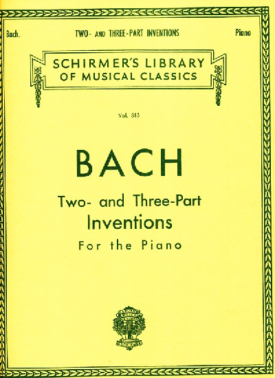 Bach, Johann Sebastian : 15 Two- and Three-Part Inventions