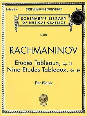 Rachmaninoff, Sergei : Etudes Tableaux, Op. 33 and 39