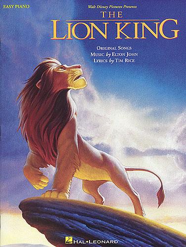 John, Elton : The Lion King: Easy Piano