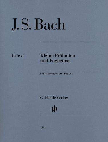 Petits Préludes et Fuguettes / Little Preludes and Fughettas (Bach, Johann Sebastian)