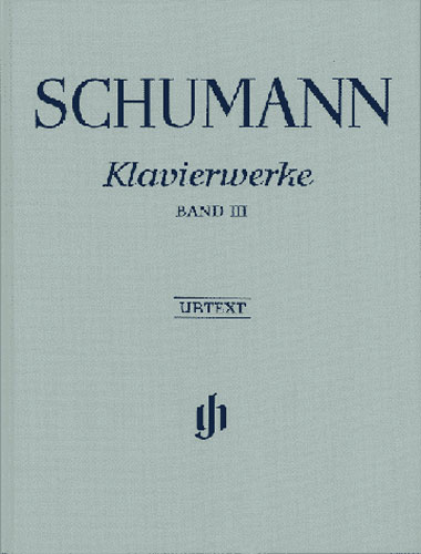 ?uvres pour piano - Volume 3 / Piano Works - Volume 3 (Schumann, Robert)