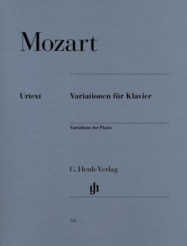 Variations pour piano / Variations for Piano (Mozart, Wolfgang Amadeus)