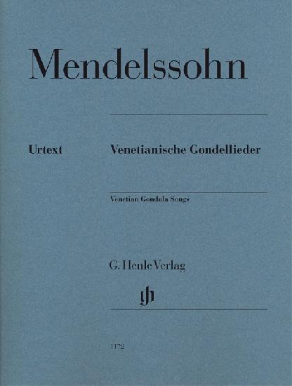 Mendelssohn, Félix : Venetian Gondola Songs for Piano