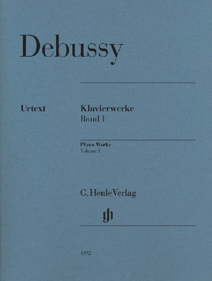 Debussy, Claude : Oeuvres pour piano, volume I