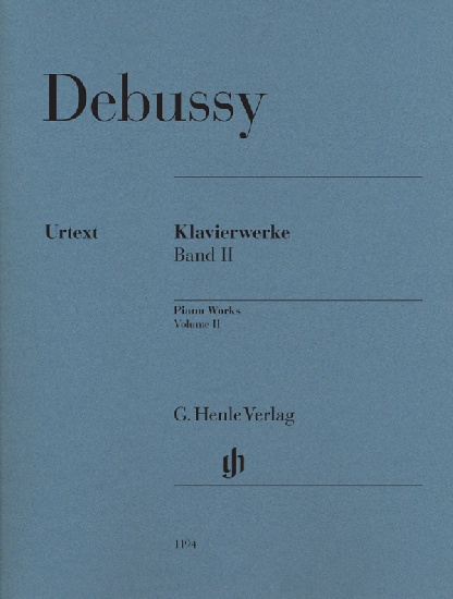 Debussy, Claude : Oeuvres pour piano, volume II