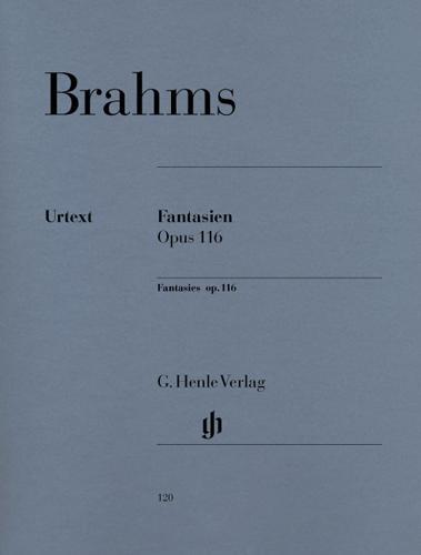 Fantaisies Opus 116 / Fantasies Opus 116 (Brahms, Johannes)