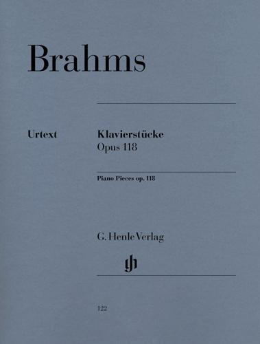 Pièces pour piano Opus 118 / Piano Pieces Opus 118 (Brahms, Johannes)