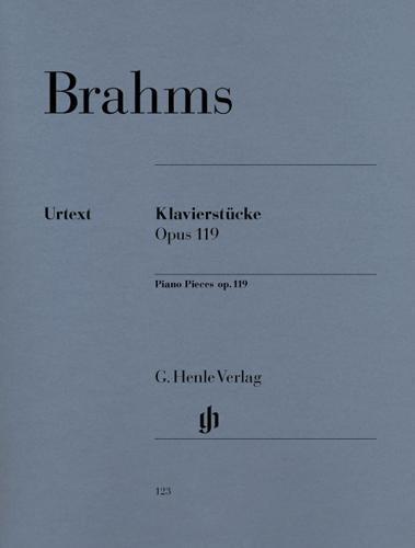 Pièces pour piano Opus 119 / Piano Pieces Opus 119 (Brahms, Johannes)