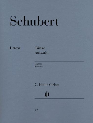 Danses - Sélection / Selected Dances (Schubert, Franz)
