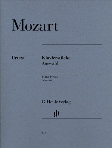 Pièces pour piano - Sélection / Selected Piano Pieces (Mozart, Wolfgang Amadeus)