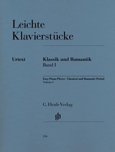 Pièces pour piano faciles - Classique et Romantique - Volume 1 / Easy Piano Pieces - Classical and Romantic Eras - Volume 1 (Divers Auteurs)
