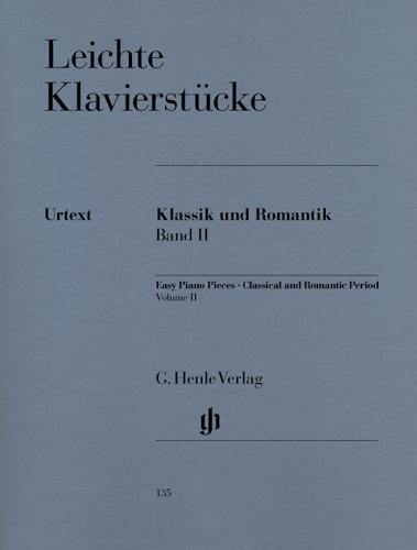Pièces pour piano faciles - Classique et Romantique - Volume 2 / Easy Piano Pieces - Classical and Romantic Eras - Volume 2 (Divers Auteurs)