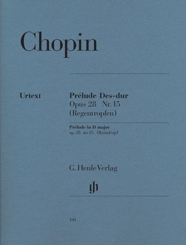 Prélude en ré bémol majeur Opus 28 n° 15 (Prélude de la goutte d'eau) / Prelude in D-flat Major Opus 28 No. 15 (Raindrop) (Chopin, Frédéric)