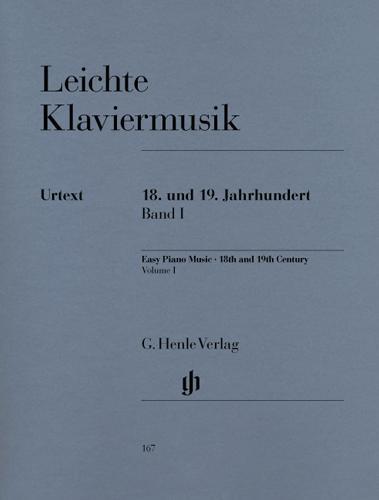 Musique pour piano facile - 18e et 19e siècles - Volume 1 / Easy Piano Music - 18th and 19th centuries - Volume 1 (Divers Auteurs)