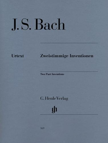Inventions BWV 772-786 (Inventions à deux voix) / Inventions BWV 772-786 (Two parts Inventions) (Bach, Johann Sebastian)